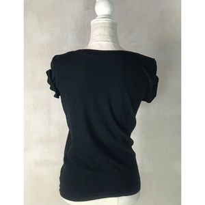 American Eagle Outfitters Tops - AEO Soft & Sexy Feminist Black Graphic Tee Sz S